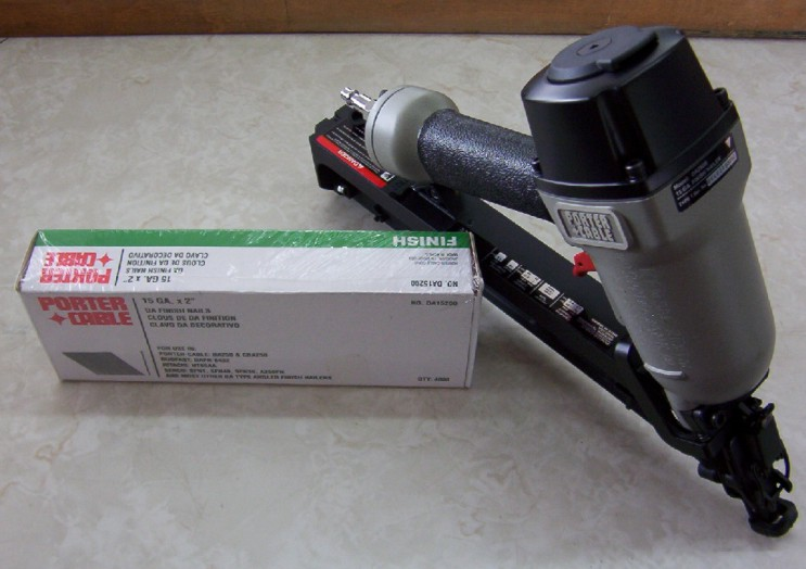 Air Nailer - Finishing