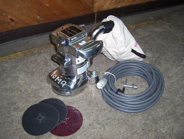 Floor Sander - Edger Only (Sandpaper Extra)