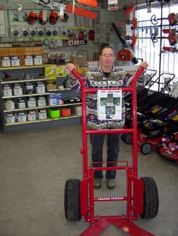 "Tree/Rock Cart (750lb. capacity) (35"" over-all width)"