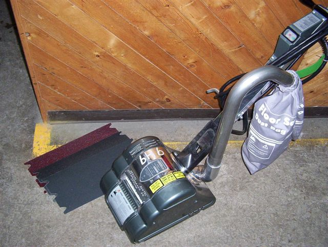 Floor Sander - Drum Only (Sandpaper Extra)