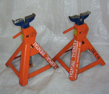 Axle Stands - Pair (5 Ton rating)