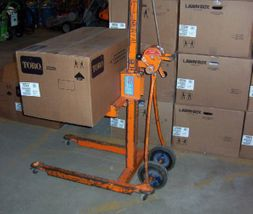 Material Lift - Up to Max. 12' H., 500 lbs.